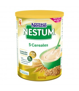 NESTLE NESTUM 5 CEREALES SUP-FIBRA 650 GR