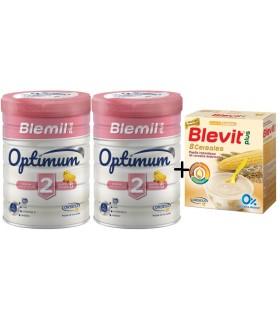 BLEMIL OPTIMUM 2 DUPLO + 8CEREALES BLEVIT