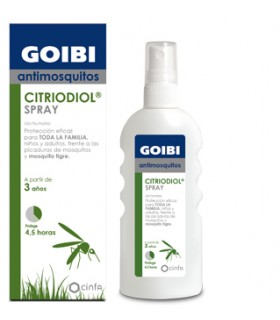 GOIBI ANTIMOSQUITOS CITRIODOL SPRAY USO HUMANO R