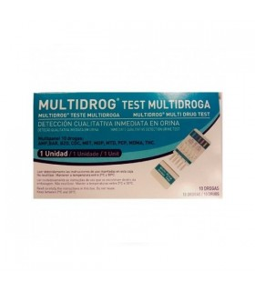 TEST MULTIDROG 10 DROGAS