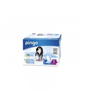 PINGO PAÑALES ECOLOGICO T-1 (2 A 5 KG) 27 UNIDADES Pañales y toallitas y Cuidado del bebe -