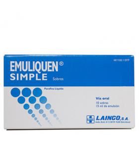 EMULIQUEN SIMPLE 7.17 G 10 SOBRES EMULSION ORAL Medicamentos y Inicio -