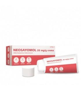 NEOSAYOMOL 2% CREMA 30 G Medicamentos y Inicio -