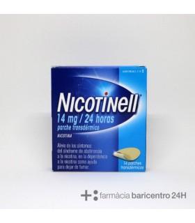NICOTINELL 14 MG-24 H 14 PARCHES TRANSDERMICOS 3 Deshabituacion tabaquica y Medicamentos - GLAXO SMITHKLINE