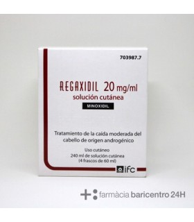 REGAXIDIL 20 MG 240 ML Champus tratantes y Dermatologia - IFCANTABRIA