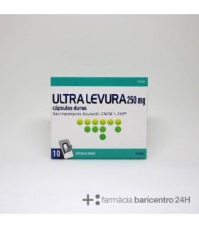 ULTRALEVURA 250 MG 10 CAPSULES Probioticos y Trastornos Digestivos -