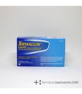 TERMALGIN GRIPE 650MG 10 SOBRES Resfriados y Resfriado, tos y Gripe -