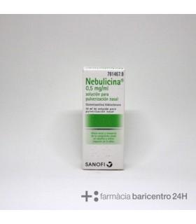 NEBULICINA 0.5 MG-ML NEBULIZADOR NASAL 10 ML Congestion nasal y Resfriado, tos y Gripe -