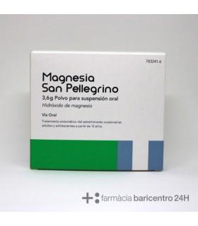 MAGNESIA SAN PELLEGRINO 3.6 G 20 SOBRES POLVO SU Laxantes y Trastornos Digestivos -