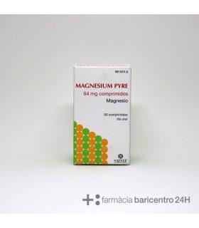 MAGNESIUM PYRE 50 COMPRIMIDOS Vitaminas y Minerales y Medicamentos -