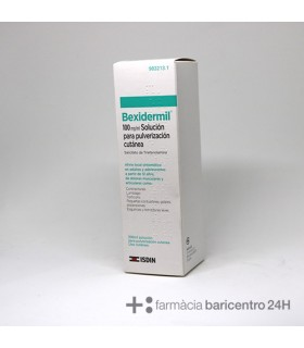 BEXIDERMIL 100 MG-ML AEROSOL TOPICO 200 ML