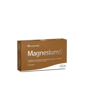 VITAE MAGNESIUM 6 20 COMPRIMIDOS Dolor y Salud Muscular -