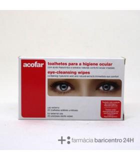 ACOFAR TOALLITAS PARA HIGIENE OCULAR 20 U Higiene ocular y Salud ocular -
