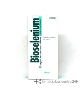 BIOSELENIUM 2.5% SUSPENSION TOPICA 100 ML Capilar y Dermatologia - URIACH AQUILEA OTC
