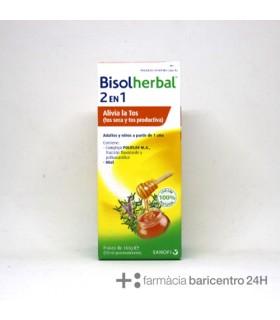 BISOLHERBAL 2 EN 1 180G Tos y Salud Respiratoria -