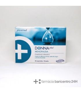 DONNA PLUS MENOPAUSIA 30 CAPS + 30 COMP Menopausia y Salud vias urinarias - ORDESA
