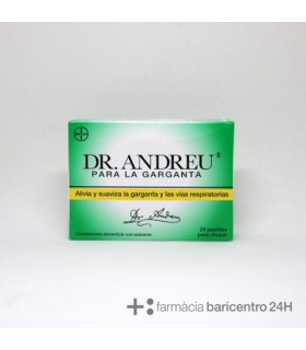 DR ANDREU PARA GARGANTA 24PAST Garganta y Salud Respiratoria -