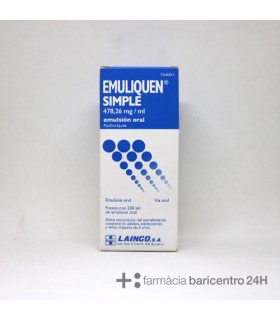 EMULIQUEN SIMPLE 478.2 MG-ML EMULSION ORAL 230 M Laxantes y Trastornos Digestivos - LAINCO