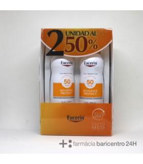 EUCERIN SUN SPRAY TRANSP DRYT FPS50 DUPLO Proteccion solar corporal y Cuidado corporal - PIERRE FABRE