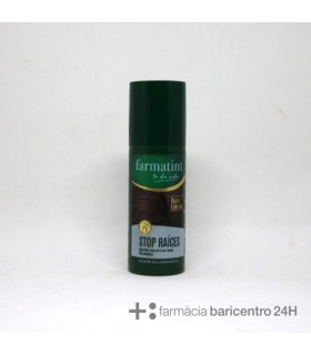 FARMATINT STOP RAICES CASTAÑO OSCURO 75ML Tintes y Higiene Capilar -