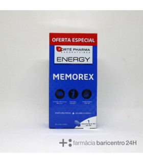 FORTE PHARMA ENERGY MEMOREX 56 COMP Ansiedad y Sistema nervioso -