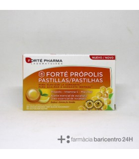 FORTE PHARMA PROPOLIS PASTILLAS LIMON Garganta y Salud Respiratoria -