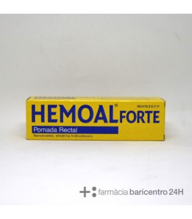 HEMOAL FORTE POMADA RECTAL 50 G Hemorroides y Sistema Circulatorio - RECKITT BENCKISER HEALTHCARE