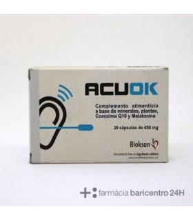 ACUOK 30 CAPSULAS Sueño y Sistema nervioso -
