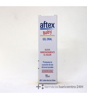 AFTEX BABY GEL ORAL 15 ML Aftas y herpes y Higiene Bucal - VIÑAS