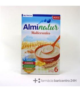 ALMINATUR MULTICEREALES 250G Papillas y galletas y Alimentacion del bebe - NUMIL NUTRICION