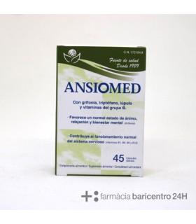 ANSIOMED 45 CAPSULAS Ansiedad y Sistema nervioso -