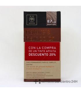 APIVITA TINTE 8.7 Tintes y Higiene Capilar - APIVITA