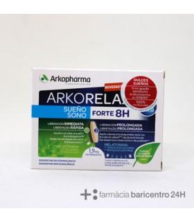 ARKOPHARMA ARKORELAX SUEÑOO 8H CRONO 30 COPRIMIDOS Sueño y Sistema nervioso -
