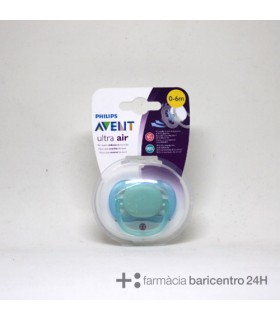 AVENT CHUPETE GIRL ULTRA AIR 0-6M 1U Chupetes y Accesorios del bebe - BB AVENT