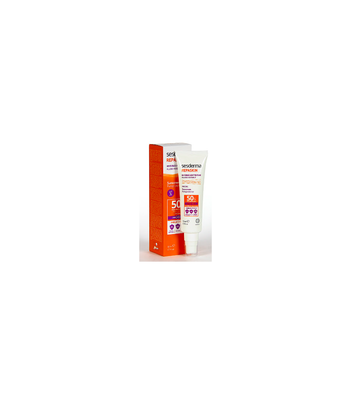 Farmacia Baricentro SESDERMA REPASKIN FLUIDO INVISIBLE 50ML
