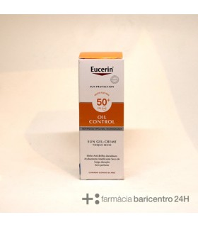 EUCERIN SUN PROTECTION 50+ GEL CREME ROSTRO OIL