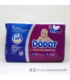 DODOT ACTIVITY TOALLITAS BEBE 108 UNIDADES Pañales y toallitas y Cuidado del bebe - PROCTER AND GAMBLE