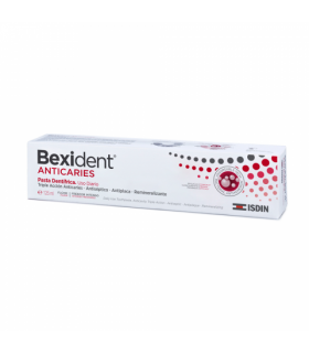 BEXIDENT ANTICARIES PASTA DENTIFRICA 125 ML