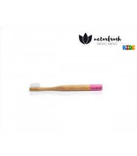 NATURBRUSH CEPILLO DENTAL INFANTIL ROSA