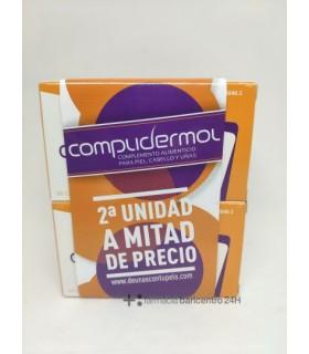 COMPLIDERMOL 50 CAPS DUPLO Tratamiento y Anticaida - REIG JOFRE