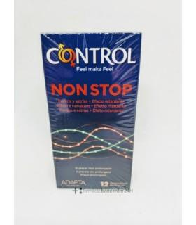 CONTROL NON STOP PRESERVATIVOS 12 UNIDADES Preservativos y Salud Sexual - ARTSANA