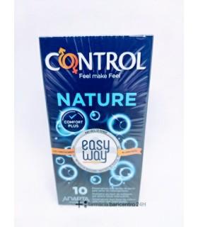 CONTROL NATURE EASY WAY PRESERVATIVOS 10 UNIDADES Preservativos y Salud Sexual - ARTSANA