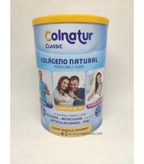 COLNATUR CLASSIC POLVO 300 G VAINILLA GOURMET Colagenos y magnesios y Salud Muscular - ORDESA