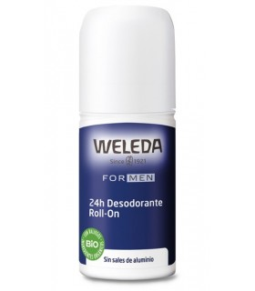WELEDA MEN 24 H DESODORANTE ROLL ON 50 ML Desodorantes y Higiene Corporal -