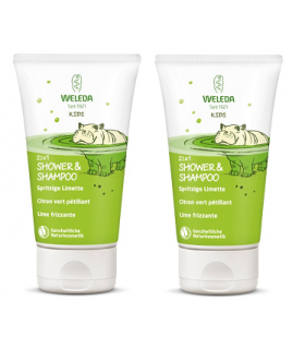 WELEDA SHAMPOO  AND  BODY WASH LIMA DUPLO
