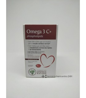 APOTECA NATURA OMEGA 3 C+ Colesterol y Salud cardiovascular - ABOCA