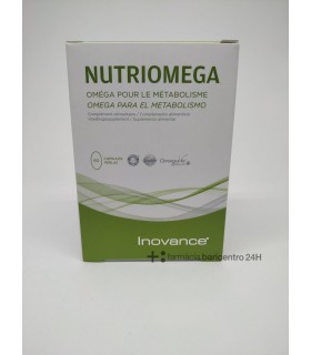 INOVANCE NUTRI OMEGA 60 CAPS Colesterol y Salud cardiovascular -