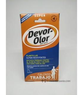 DEVOR OLOR SUPER PLANTILLES Desodorantes y Cuidado Pies - CEDERROTH DISTREX