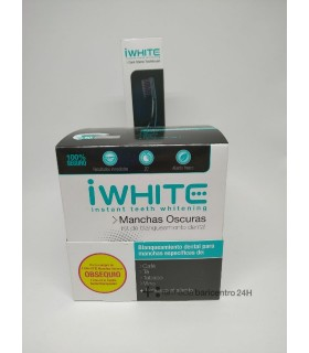 IWHITE MANCHAS OSCURAS Blanqueamiento y Higiene Bucal -