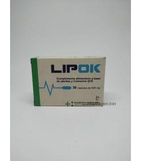 LIPOK 30 CAPSULAS Colesterol y Salud cardiovascular -